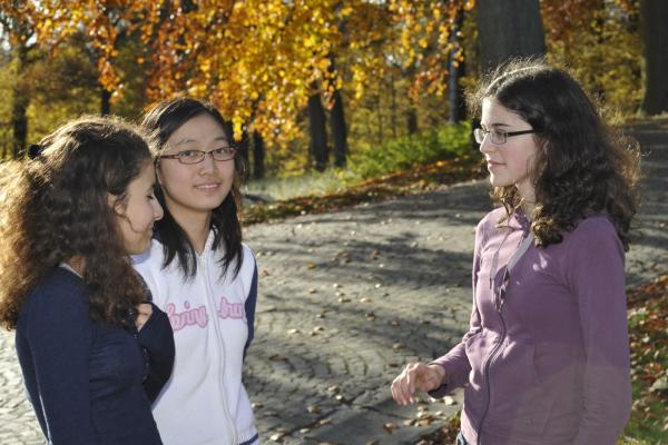 Mélanie Sedda, Lin Jingran & Laetitia Gelbgras<br />(Photo P. Dupont)