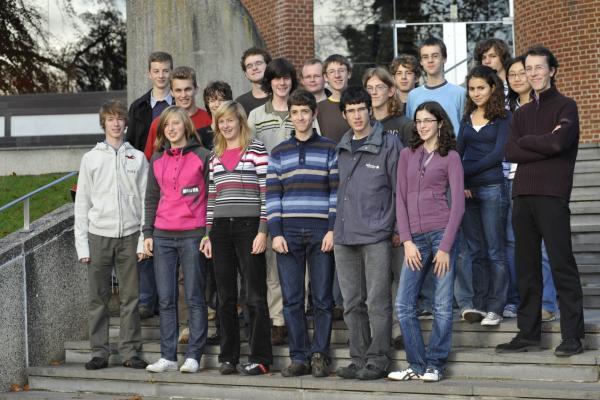 Les deux groupes réunis<br />(Photo P. Dupont)