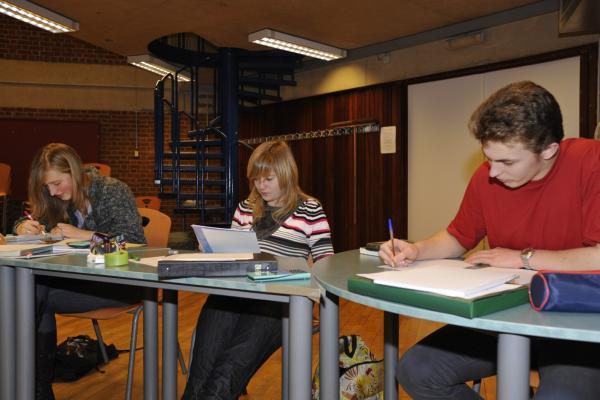 Amandine Levecq, Sophie Rosu & Robin Walravens<br />(Photo P. Dupont)