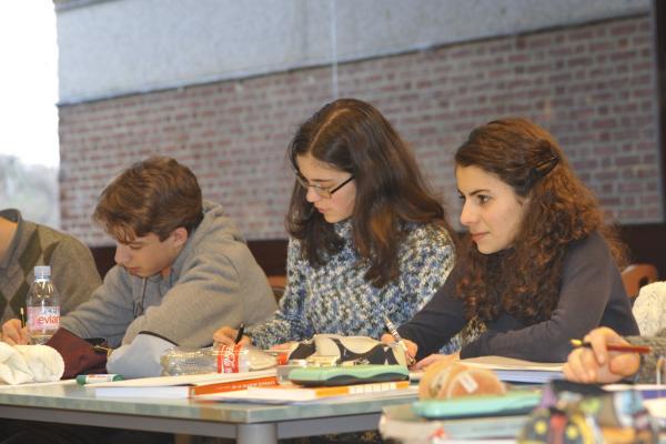 Antoine Dujardin, Laetitia Gelbgras & Mélanie Sedda<br />(Photo P. Dupont)
