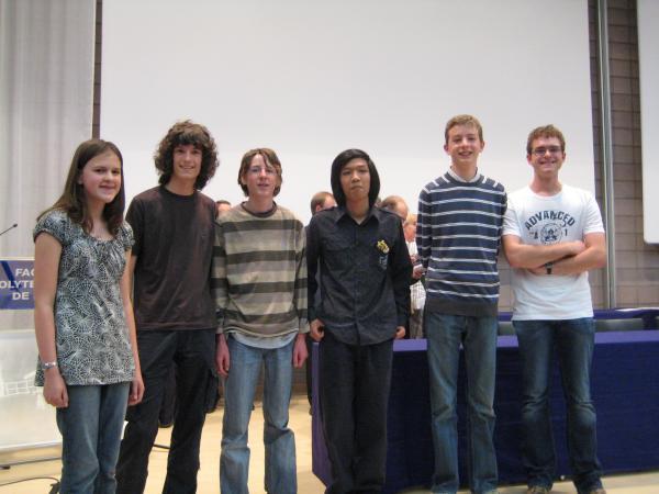 Les «premiers prix » 2008
